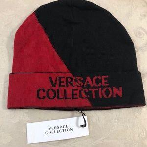 🆕 Versace Signature color block Beanie ⛄️